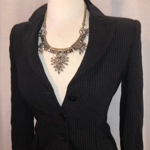 Armani Collezioni Jackets & Coats - Vintage Pinstripe Armani Blazer